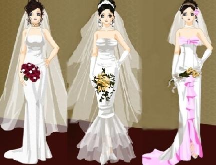 1000  idées à propos de Wedding Dress Up Games sur Pinterest ...
