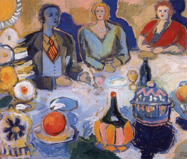 fikret mualla — turkish painter
