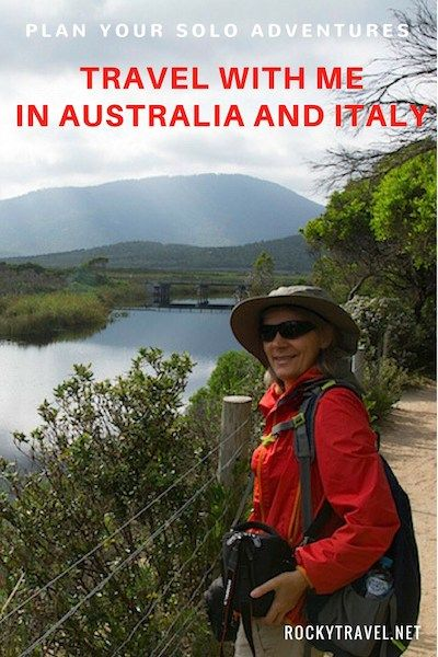 If you plan to travel alone in Italy and Australia and love to get active in the nature, go hiking and explore more of the less touristy places, then my small group tours of Italy and guided group tours of Australia can be a good fit for you.