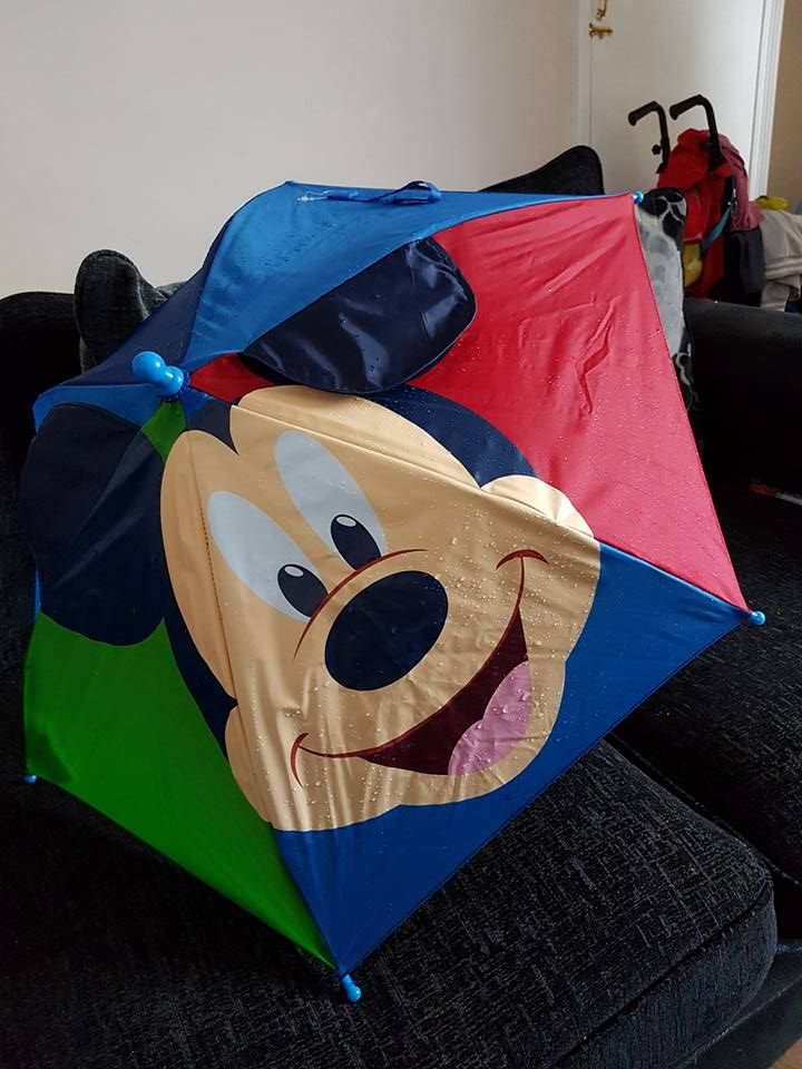 ***Found*** Has anyone lost a Mickey mouse umbrella, that wasfound on the ground next to Marsden school (Marsden, Huddersfield, Yorkshire). Please share this post, thanks.