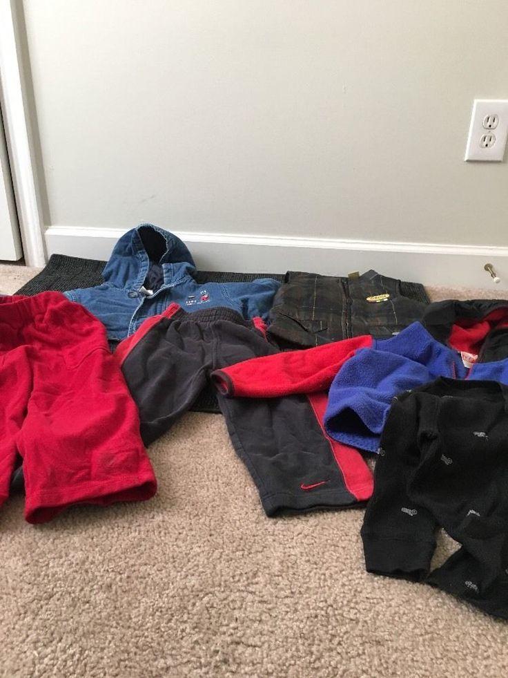 Toddler Boys Lot Clothes Sz 3T Jacket Top Pants Vest 6 Pcs