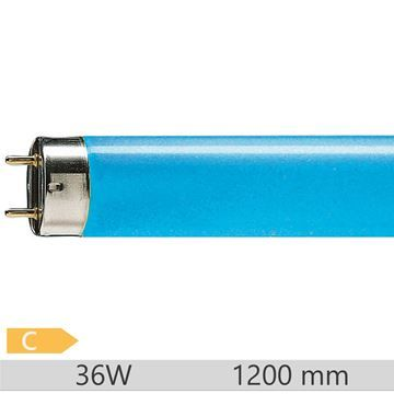 Tub fluorescent Philips TL-D Blue 36W, T8, G13
