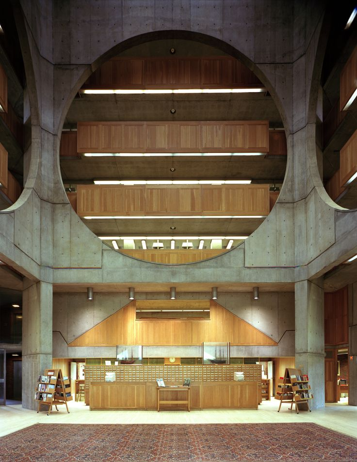EXETER LIBRARY - Google Search | Louis kahn | Pinterest ...