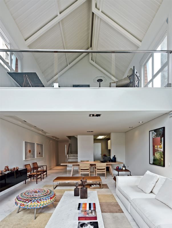 13 best truss love images on pinterest steel trusses for Living room upstairs design