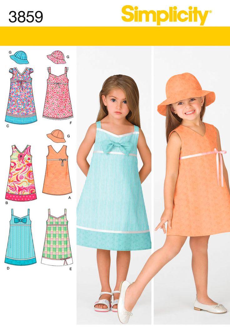 1000 Ideas About Simplicity Dress Patterns On Pinterest