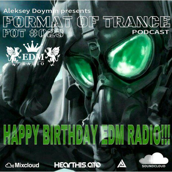 "#MixCloud #Trance #Music Check out ""Aleksey Doymin - Format Of Trance #023 Happy Birthday EDM Radio 06.04.2016"" by ALEKSEY DOYMIN on Mixcloud"
