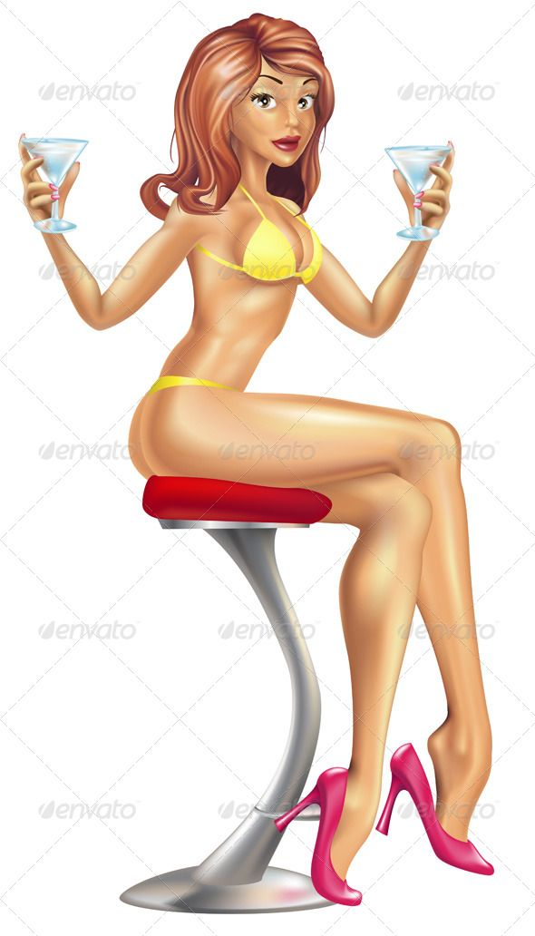Sexy Woman in Bikini with Cocktails Illustration  #GraphicRiver         Illustration of a sexy woman in a swim wear swimming suit bikini offering martini cocktails from a bar stool.     Created: 18October10 GraphicsFilesIncluded: JPGImage #VectorEPS Layered: No MinimumAdobeCSVersion: CS Tags: attractive #bikini #costum #drinks #fashion #holiday #martini #sexy #suit #swim #swimming #swimwear #vacation #wear #woman