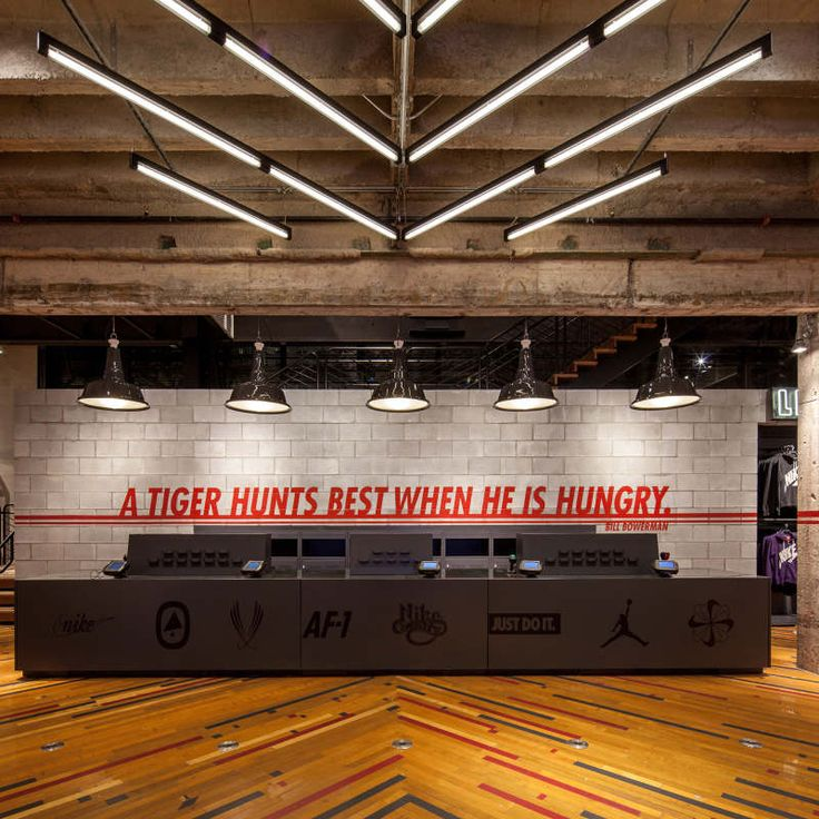 Art Direction + Environment Design - Brand Experience store in Atlanta for Nike. Chock full of local storytelling, reclaimed materials, and ATL bling. Favorite part: a partnership with the Butler Street Community Development Center who donated...