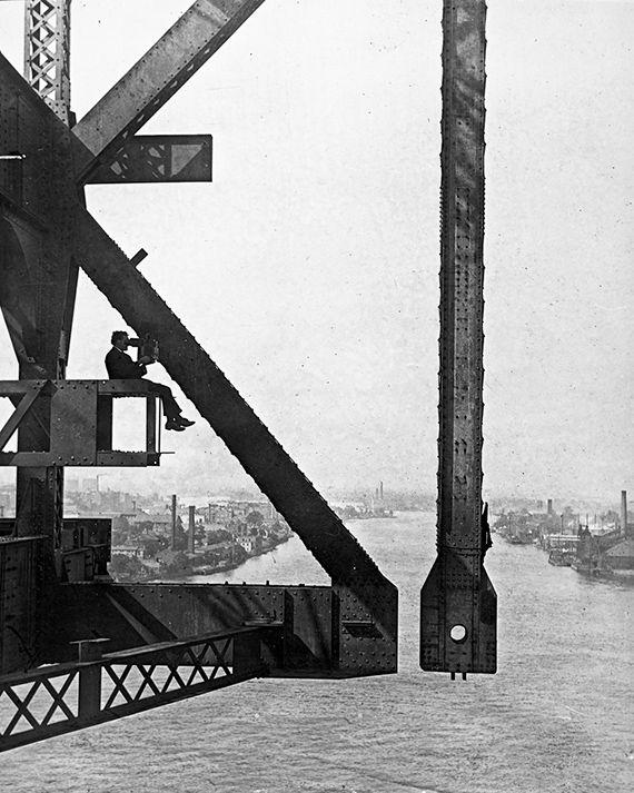 1907 Queensborough Bridge Construction