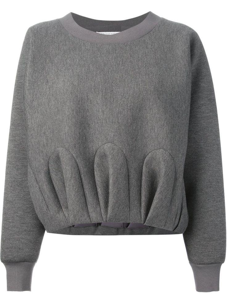 Viktor & Rolf Gathered Effect Sweatshirt - Gaudenzi - Farfetch.com