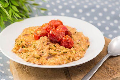 Recept : Risotto met courgette en tomaat