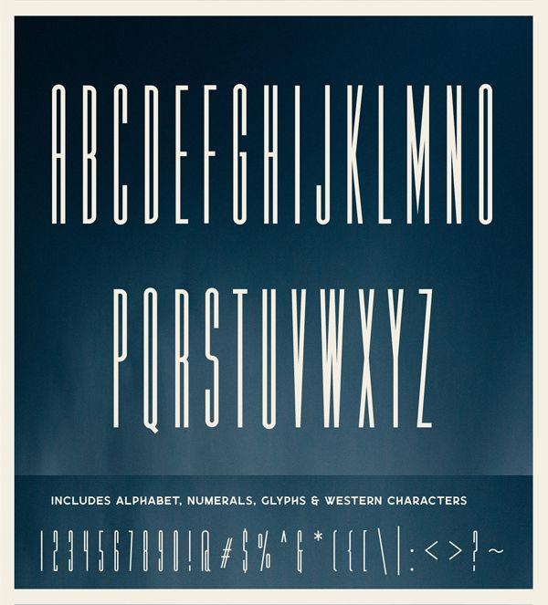 25 Fresh Free Fonts   Free Fonts   Condensed font, Fonts