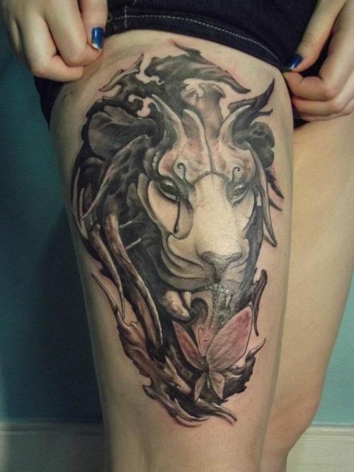 lion tattoo   Tumblr  ...