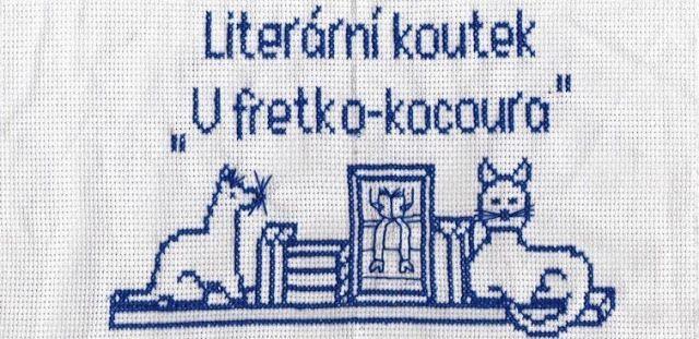 """Literární koutek """"U fretko-kocoura"""" #embroidery"""