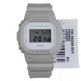G-Shock Casio DW-5600M-8ER DW-5600M Grey Digital Quartz 200m Watch