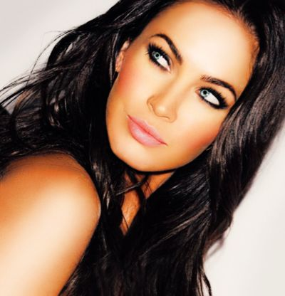 eye make-up.: Megan Fox, Make Up, Cat Eye, Style, Makeup, Beauty, Foxes, Hair Color, Eyes