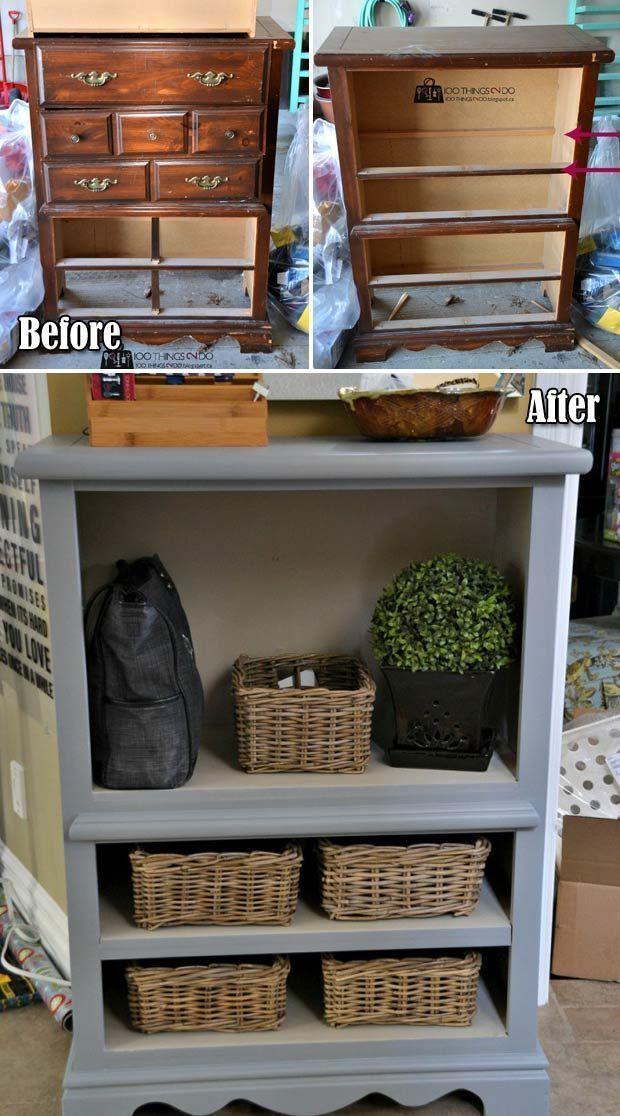 #woodworking Verwandeln Sie alte Möbel in frische ...