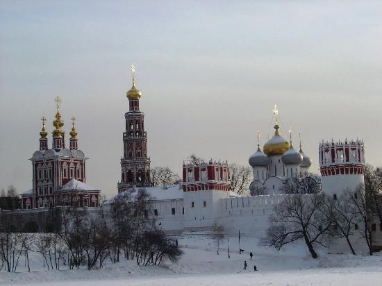 Novodevichy Convent in winter