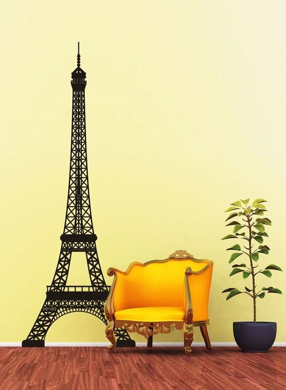 Best 25 eiffel tower wall decal ideas on pinterest paris bedroom decor paris bedroom and - Eiffel tower decor for bedroom ...