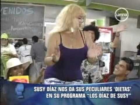"""Susy Diaz nos da sus PECULIARES DIETAS en su Programa """"Los Diaz de Susy"""" - http://dietasparabajardepesos.com/blog/susy-diaz-nos-da-sus-peculiares-dietas-en-su-programa-los-diaz-de-susy/"""