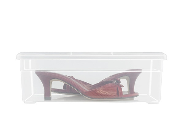 clear shoe box - only $1.89