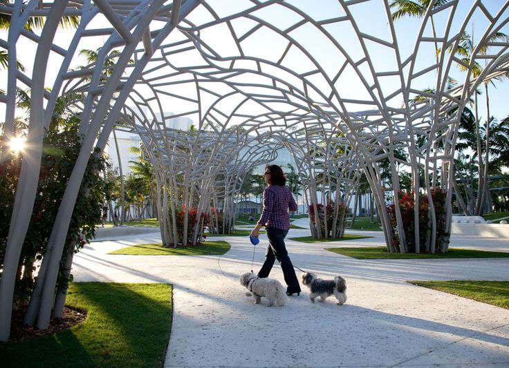 Miami beach soundscape west 8 urban design landscape for Beach architecture design