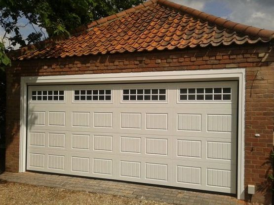 25 best ideas about garage door window inserts on pinterest for Double garage size