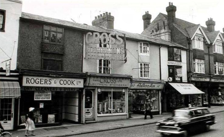 Part of the High Street (no date).