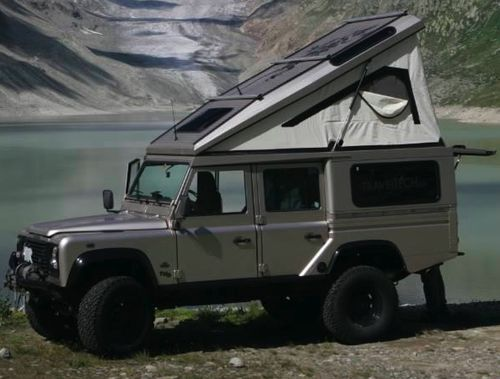 Who knows the builder of this land rover CSW (with a 130cc or 110 high-cab rear Tub) - Expedition Portal