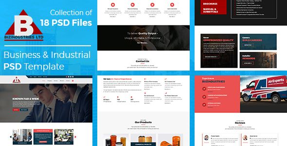 Bizindustries- Business and Industrial PSD Template - Corporate PSD Templates Download here : https://themeforest.net/item/bizindustries-business-and-industrial-psd-template/20592527?s_rank=109&ref=Al-fatih