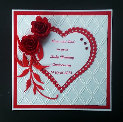 126 Best Images About Anniversary Cards On Pinterest