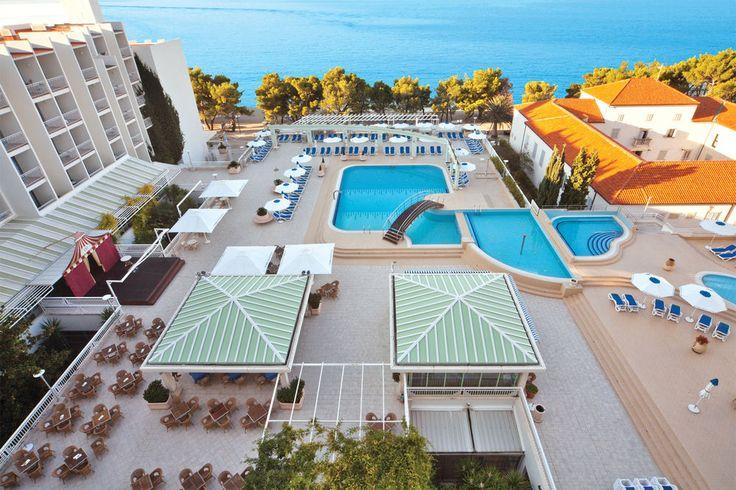 Bluesun Hotel Alga i Tucepi #Croatia #Balkan #Kroatien #Europa #Europe #Beach #Sea #Strand #Hav #Paradise #Vacation #Semester #Travel #Resa #Hotel #Bluesun #Alga #Tucepi