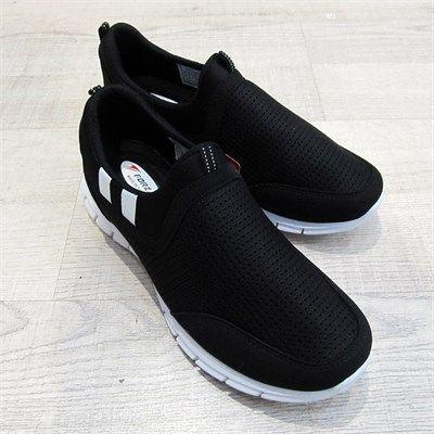 Forza Erkek Esnek Spor Ayakkabı Siyah