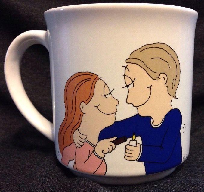 Soap Opera Mug Dale Recycled Paper Products 12 oz Mug Laura Story Line | eBay