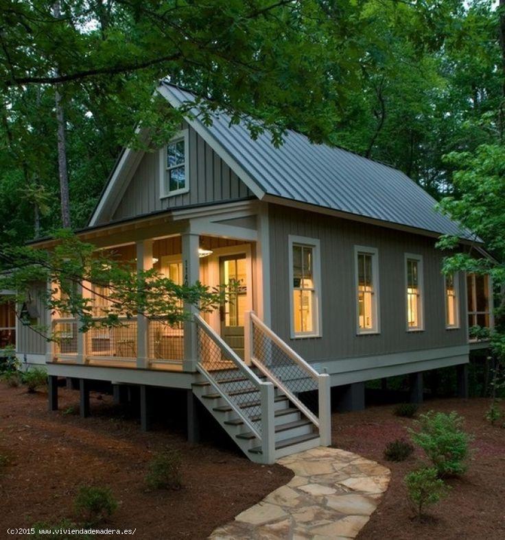 Las 25 mejores ideas sobre casas prefabricadas de madera - Casas rurales prefabricadas ...