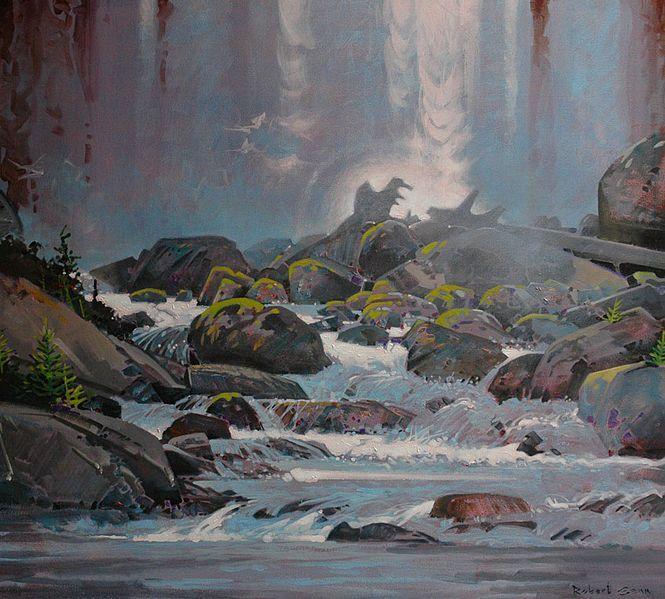 Chatterbox falls, Princess Louisa Inlet, British Columbia by Robert Genn