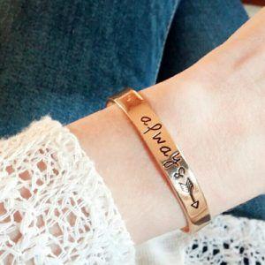 bracelet cadeau femme original  #braceletmanchette