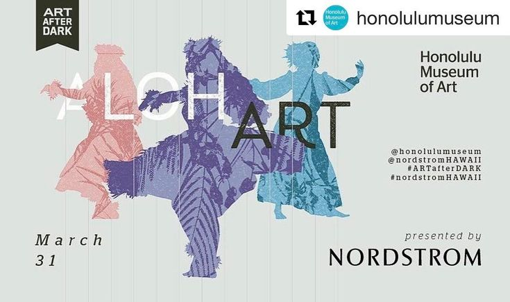 #Repost @honolulumuseum  This Friday #ARTafterDARK: AlohArt is about spotlighting local talent! Here's what you need to know:  This month the first 300 guests will get a pair of swagalicious #ArtistsofHawaii2017 sunglasses!  Ukulele star @taimanegardner performs with taiko drummers and light dancers.   @808melody spins modern island jams in the Luce Pavilion.  Daniel Anthony of @ManaAi demonstrates the Hawaiian tradition of paiai pounding. Guests are encouraged to sample the finished…