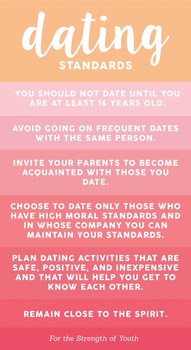 from Trace lds dating lesson ideas