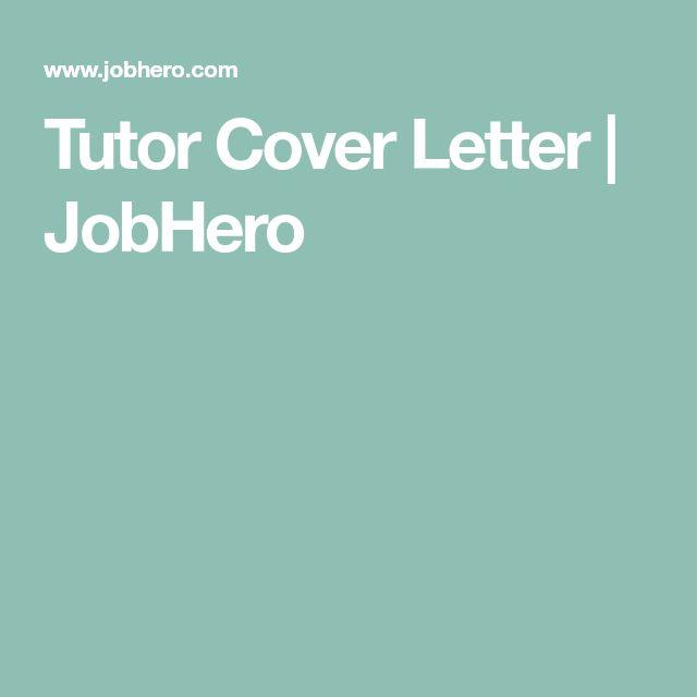 best 25 cover letter sample ideas on pinterest job