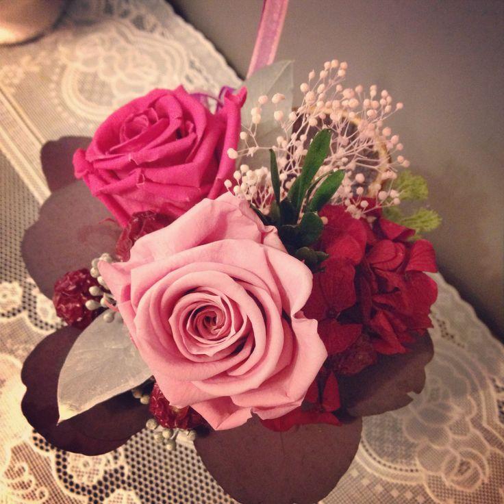 preserved flowers, so pretty #fleurpium #handmade