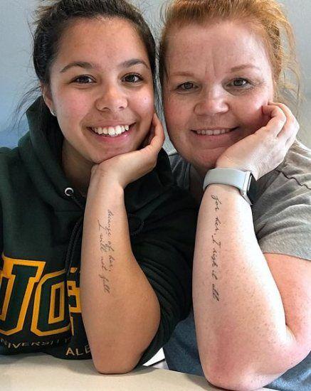 Best Tattoo Mother Daughter Ideas Life Ideas