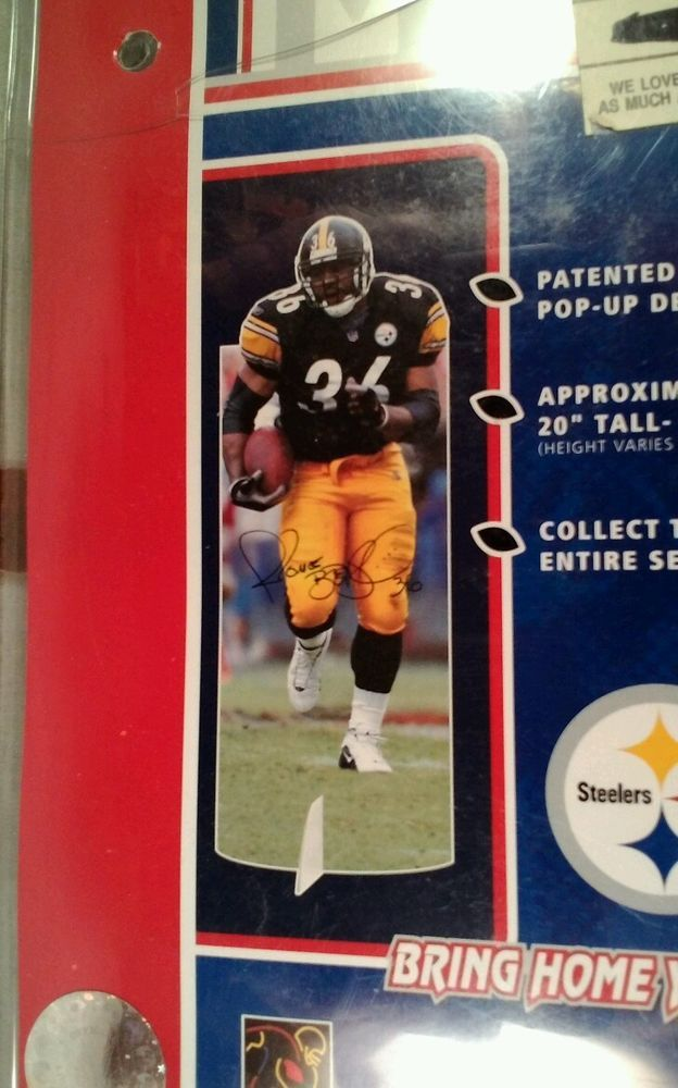 Jerome Bettis Mini Player Standee 20 Inch Pittsburgh Steelers NFL Hall Of Fame #PlayerInc #PittsburghSteelers