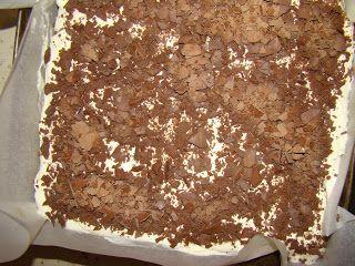 Ania mama Agnieszki: Ciasto z kremem budyniowym, bitą śmietaną i tofii