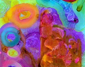 """""""Bright Colors Organic Shapes"""" by China Carnella"""