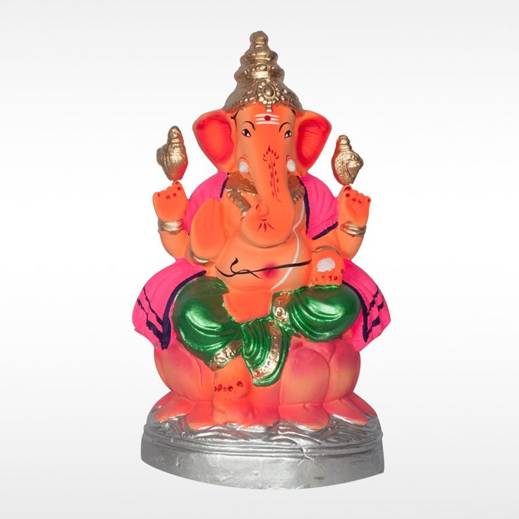 Make this #GaneshChaturthi more auspicious with this unique Eco friendly Pramodaya Balmuri #GaneshIdol  made with organic clay and natural colors.  Get 20% off for orders on or before 4th September. Hurry up!