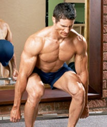 Leg Exercises - Barbell Hack Squat - Muscle and Fitness