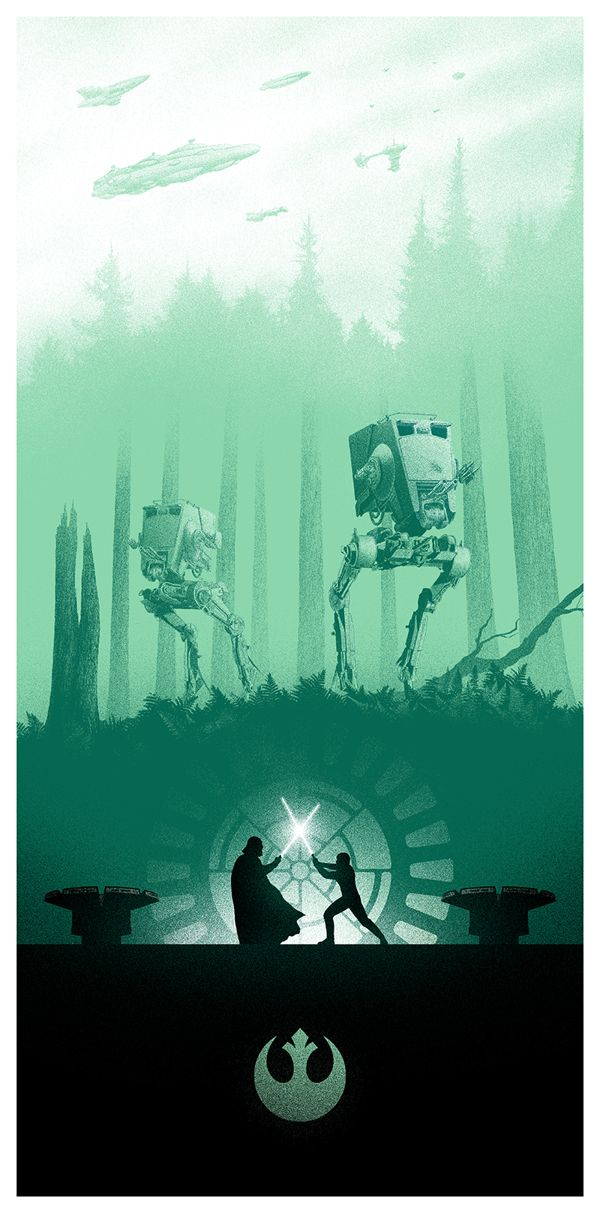 Star Wars Trilogy poster part three or six, the one with the teddy bears in!