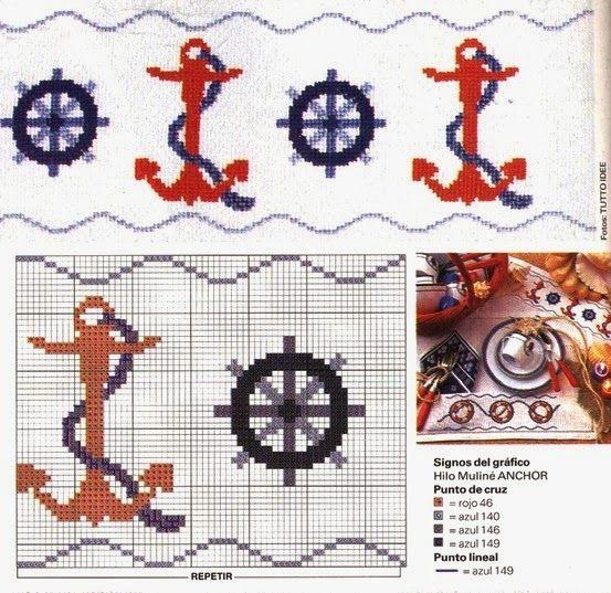 """Bom dia meninas e meninos!  Hoje terminaremos a semana com os gráficos marítimos """"Alfabeto dos Piratas e Barcos à Vela em Ponto Cruz"""". Os p..."""