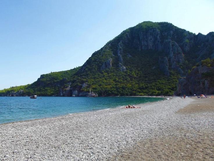 Olympos Beach. Olympos, Turkey.